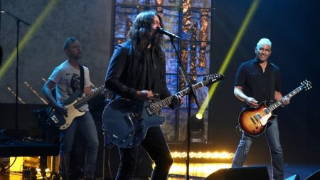 Watch: Foo Fighters perform new single 'The Line' on 'The Ellen DeGeneres Show'