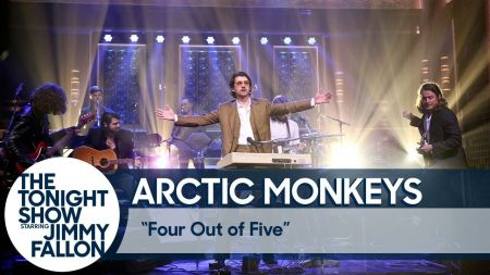 Watch: Arctic Monkeys perform new song 'Four Out of Five' on 'Fallon'