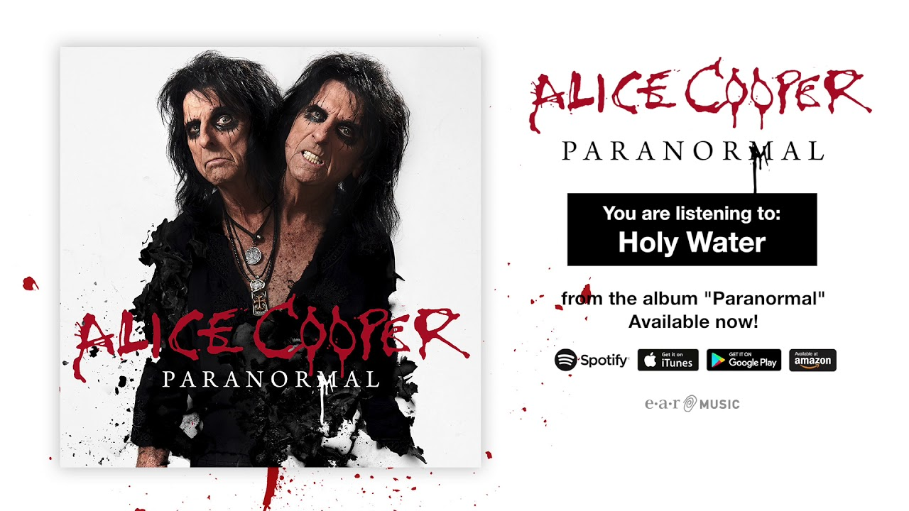 Listen: Alice Cooper streams official audio for 'Holy Water'