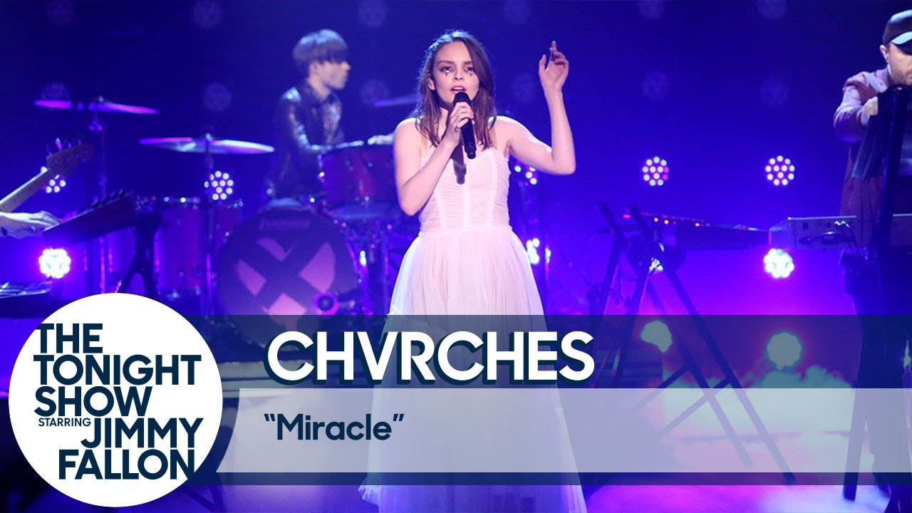 CHVRCHES perform new single 'Miracle' on 'Fallon': Watch