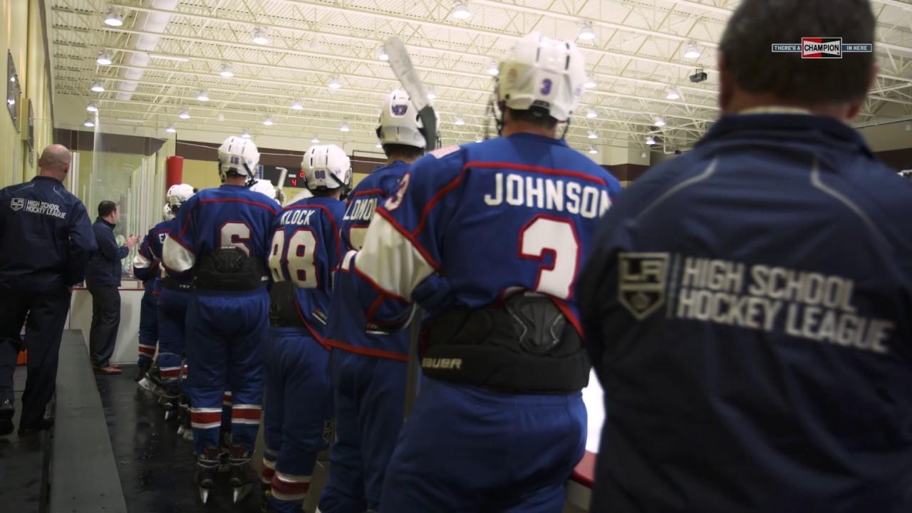 Los Angeles Kings High School Hockey League promote 2018-19 tryouts