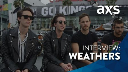 Watch: Rising LA band Weathers talk letting loose and maturing as a band