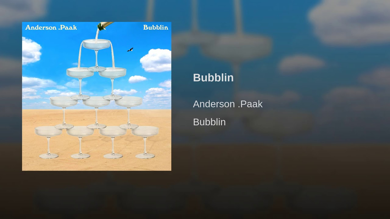 Anderson .Paak details new album with Dr. Dre, shares new single 'Bubblin': Listen