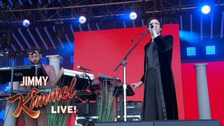 Watch: MGMT play five songs from new album 'Little Dark Age' on 'Kimmel'