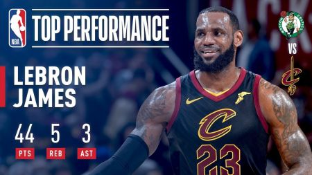 LeBron James reaches another historical mark