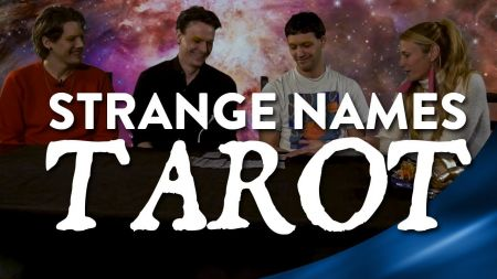 Watch NYC band Strange Names get their fortunes read by The Witch Of The Dawn