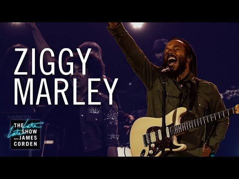 Watch: Ziggy Marley performs 'Rebellion Rises' on 'The Late Late Show'