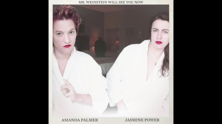 Amanda Palmer contributes to #MeToo movement with new song 'Mr. Weinstein Will See You Now'