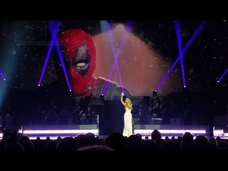 Watch: Celine Dion perform live debut of 'Ashes' at spring residency opener in Las Vegas