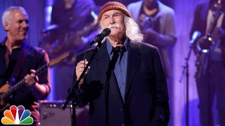 David Crosby announces 2018 tour of Europe