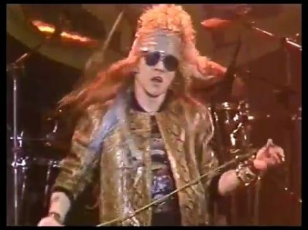 Guns N' Roses release never before seen 'It's So Easy' video