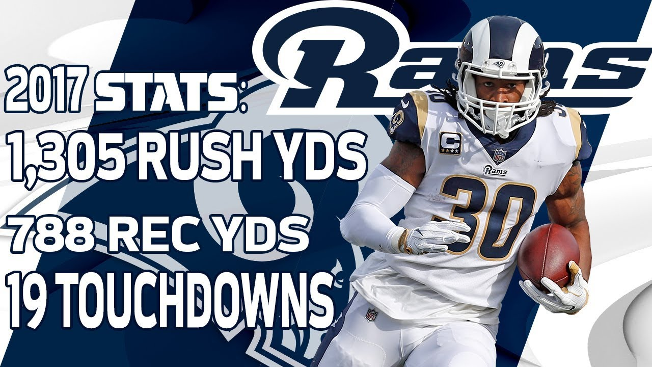 Todd gurley 2018 rams giveaways
