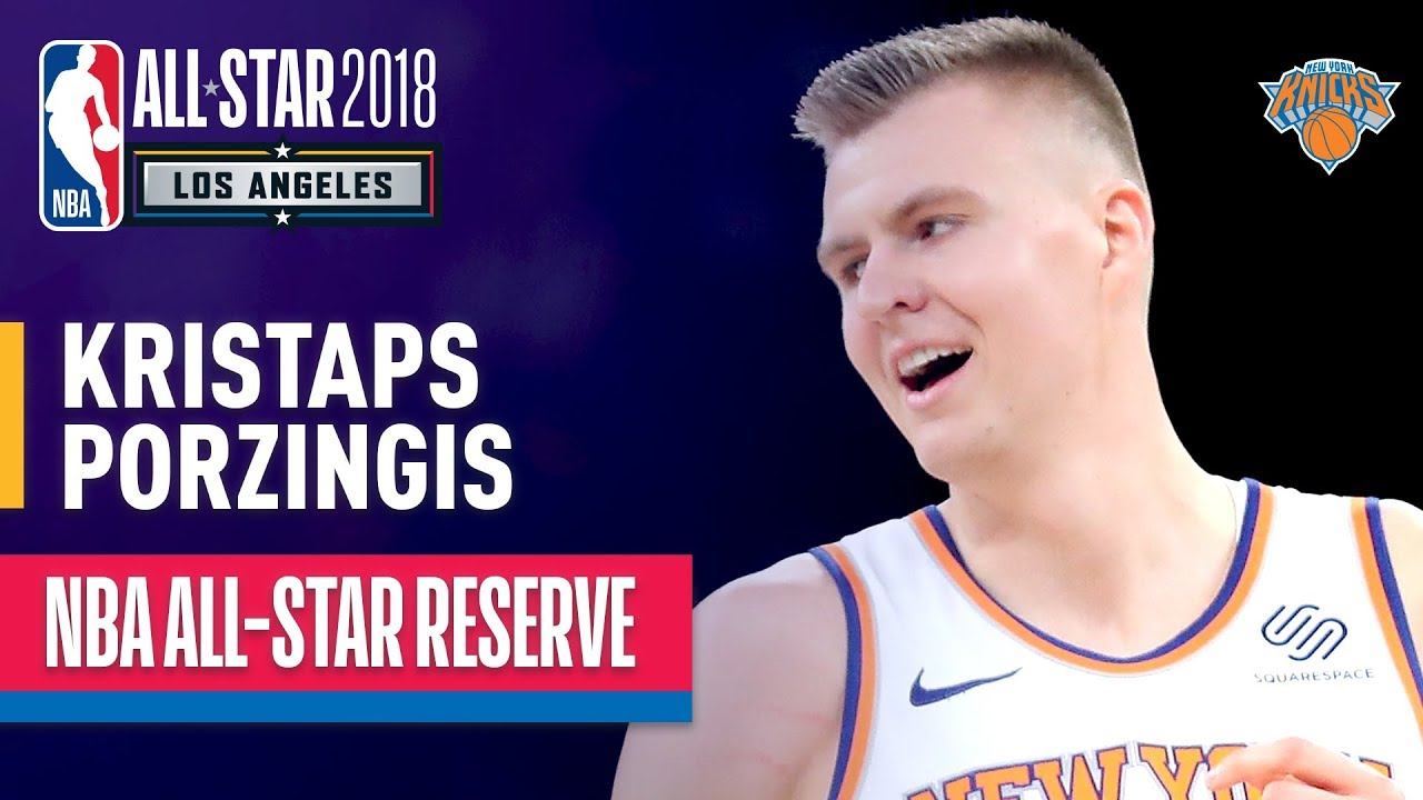 Kristaps Porzingis excited by Knicks' coaching hire
