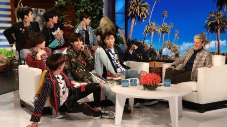 BTS perform a double feature and get pranked on 'The Ellen Show'