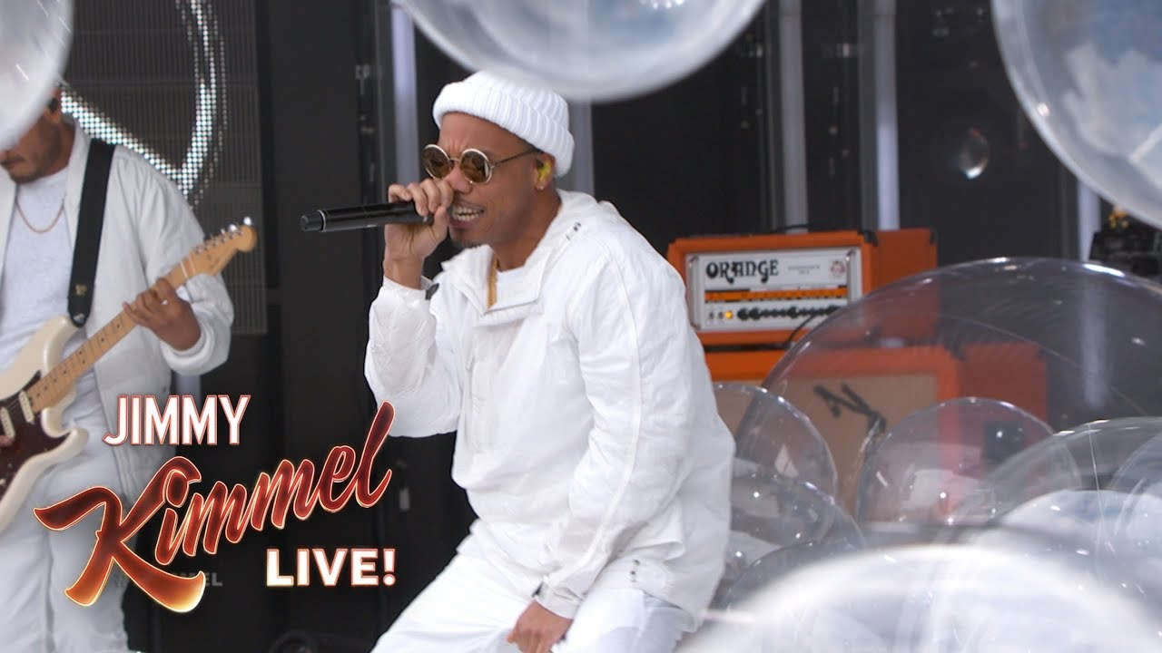Watch: Anderson .Paak goes bonkers performing 'Bubblin' on 'Kimmel'