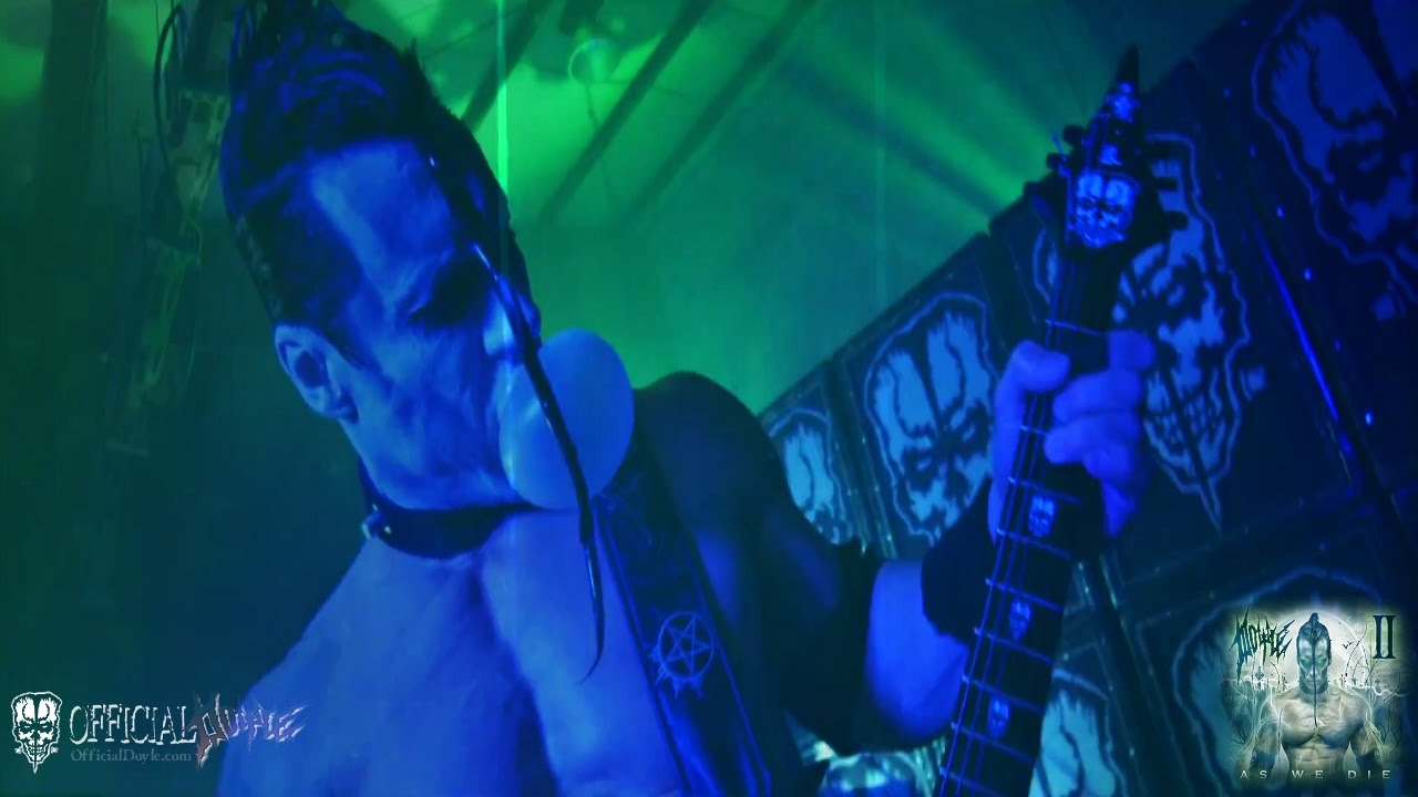 Doyle Wolfgang von Frankenstein adds dates to As We Die World Abomination Tour