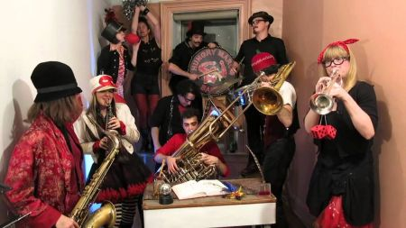 Hungry March Band releases funky 'Running through with the Sadness'