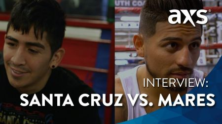 Watch: Boxers Santa Cruz and Mares prepare for rematch at Staples Center June 9