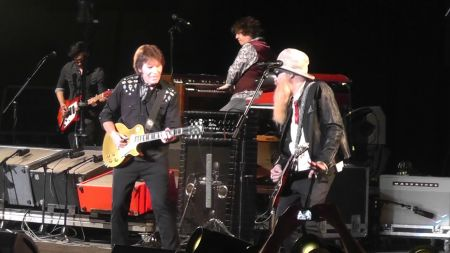 Watch: John Fogerty team with Billy Gibbons on live version of new single 'Holy Grail'