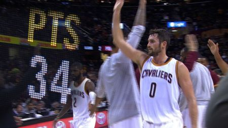 Kevin Love not yet cleared for Cleveland Cavaliers