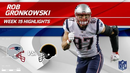 AFC East 2018 receiver ranking: Gronkowski claims the top spot