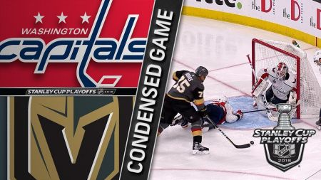 McNabb delivers defensively for Golden Knights in game 1 win over Capitals