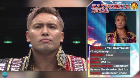 AXS TV to celebrate Heavyweight Champion Kazuchika 'The Rainmaker' Okada with special programming