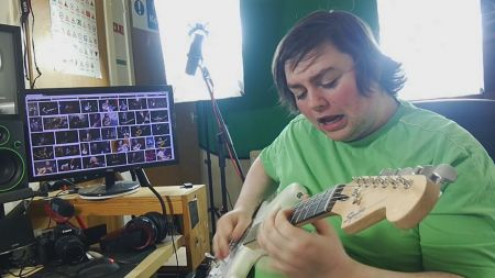 Internet shredder Kmac is back with Eddie Van Halen's 'Eruption' guitar solo: Watch