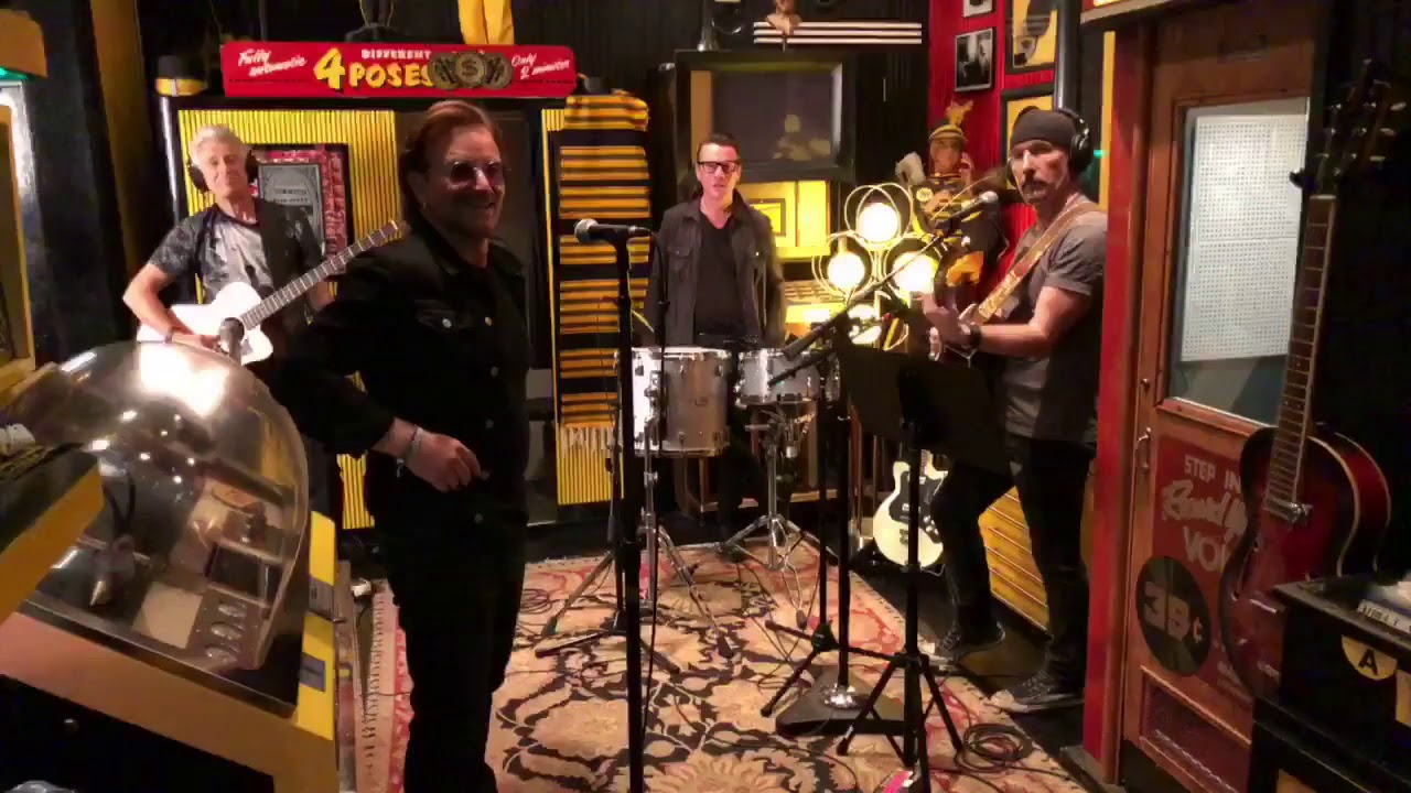 Watch: U2 perform 'Love is Bigger Than Anything in Its Way' at Third Man Records
