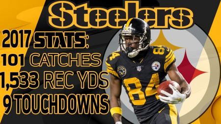 AFC North 2018 receiver rankings: Brown owns the top spot