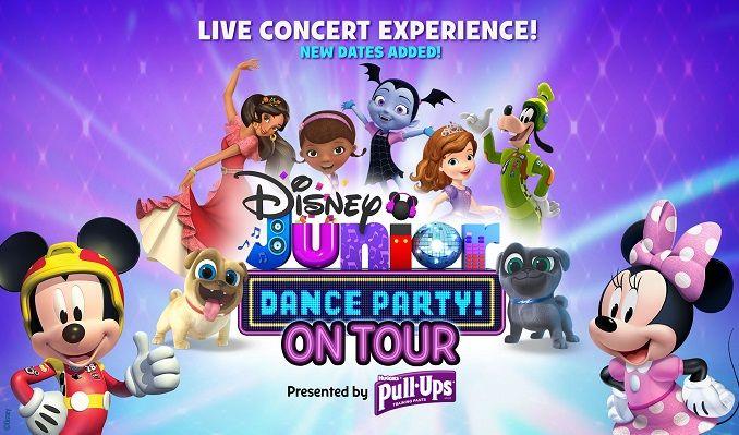 animation disney noel 2018 Disney Junior Dance Party on Tour! tickets in Midland at Wagner  animation disney noel 2018