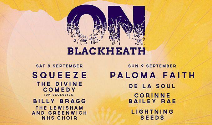 OnBlackheath tickets at Blackheath in London