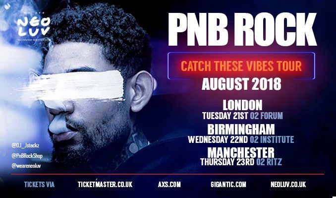 PNB Rock tickets at O2 Forum Kentish Town in London