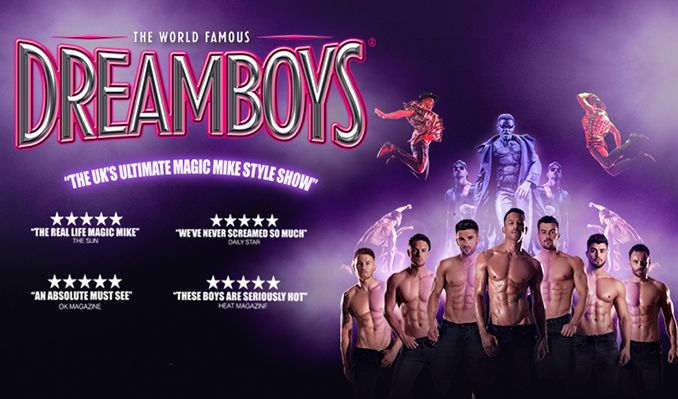 The Dreamboys tickets at Brentwood Leisure Centre, Essex