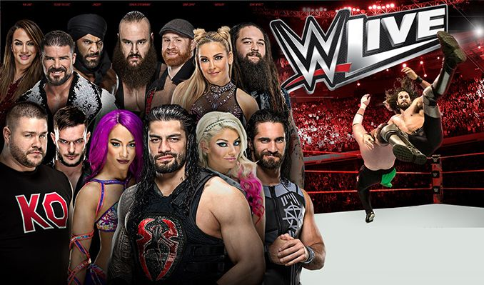 Wwe ticket giveaway 2018