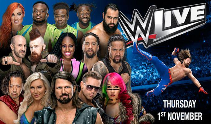 WWE Live  tickets at BHGE Aberdeen Arena in Aberdeen
