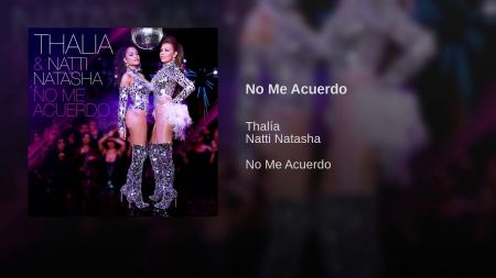 Listen: Thalía and Natti Natasha piece together the night before in 'No Me Acuerdo'
