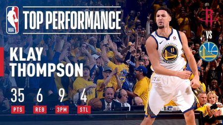 Warriors' Klay Thompson fighting injury in NBA Finals
