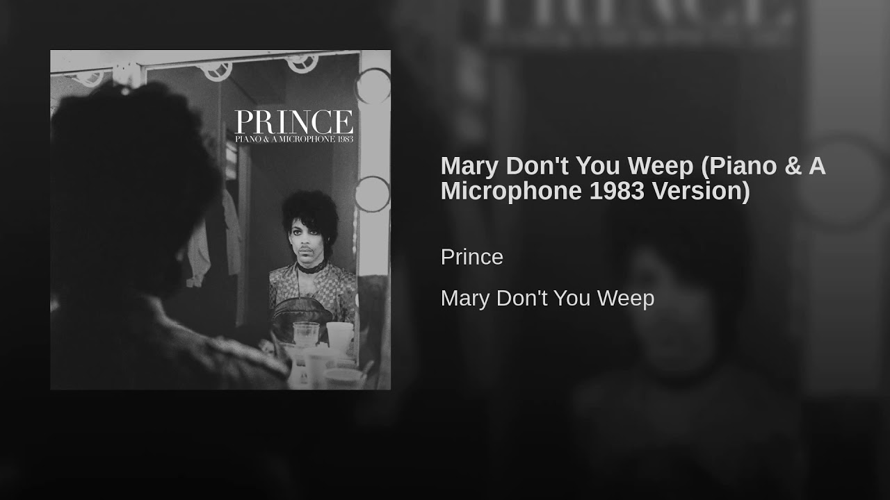 Prince's estate announces posthumous 'Piano & A Microphone' album, share first track, 'Mary Don't You Weep'