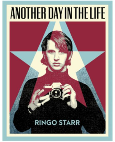 Ringo Starr's Another Day in the Life  book is a collection of photos and anecdotes from the former Beatles drummer. The book's cover is des