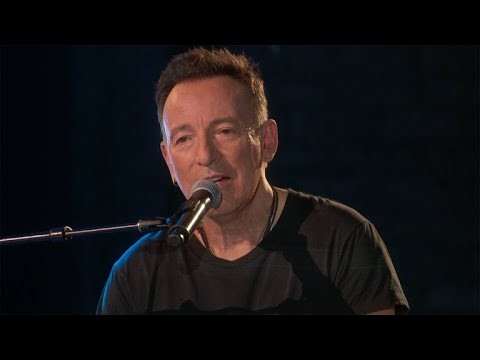 Watch: Bruce Springsteen performs spoken word version 'My Hometown' at Tony Awards