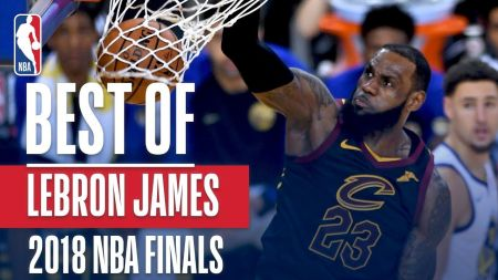 LeBron James played through injury in NBA Finals