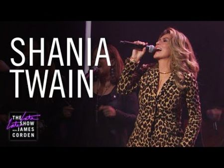 Watch: Shania Twain perform 'Life's About to Get Good' on 'The Late Late Show'