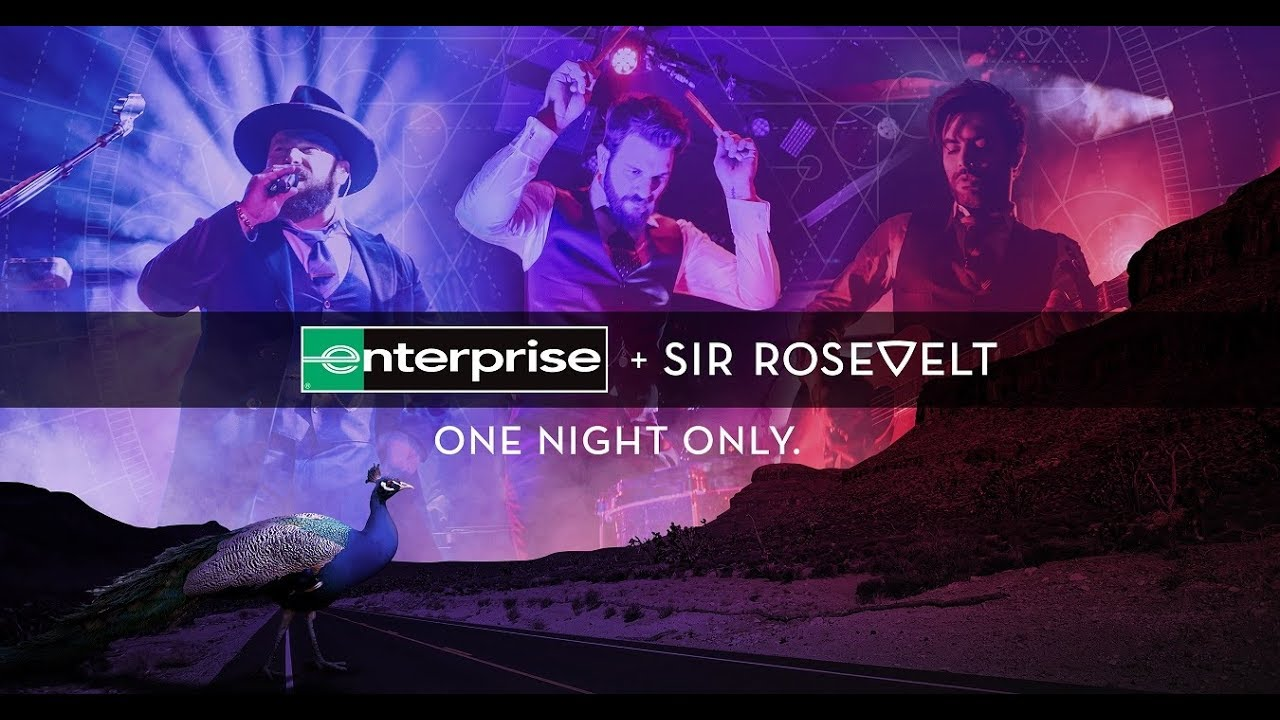 Sir Rosevelt teams with Enterprise to help fans spread kindness in Share the Code concert event