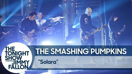 Watch: Smashing Pumpkins perform live debut of single 'Solara' on 'The Tonight Show'