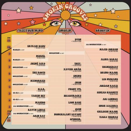 Smokin Grooves Fest 2018 Announces Set Times Axs