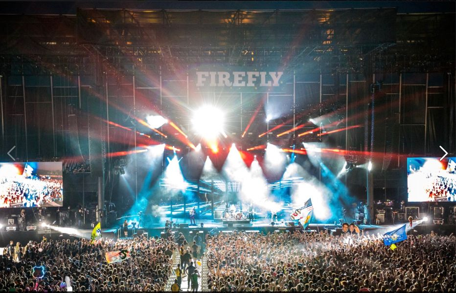 Courtesy of Firefly Music Festival