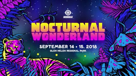 Nocturnal Wonderland lights up the night sky for headliners everywhere
