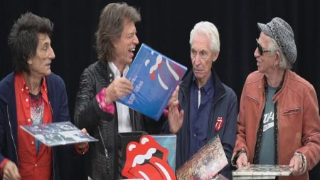 Watch: Rolling Stones unveil video for 'The Studio Albums Vinyl Collection 1971-2016'