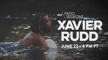 Next up on the AXS Patio Sessions: Xavier Rudd